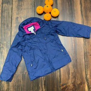 Kids nylon windbreaker jacket
